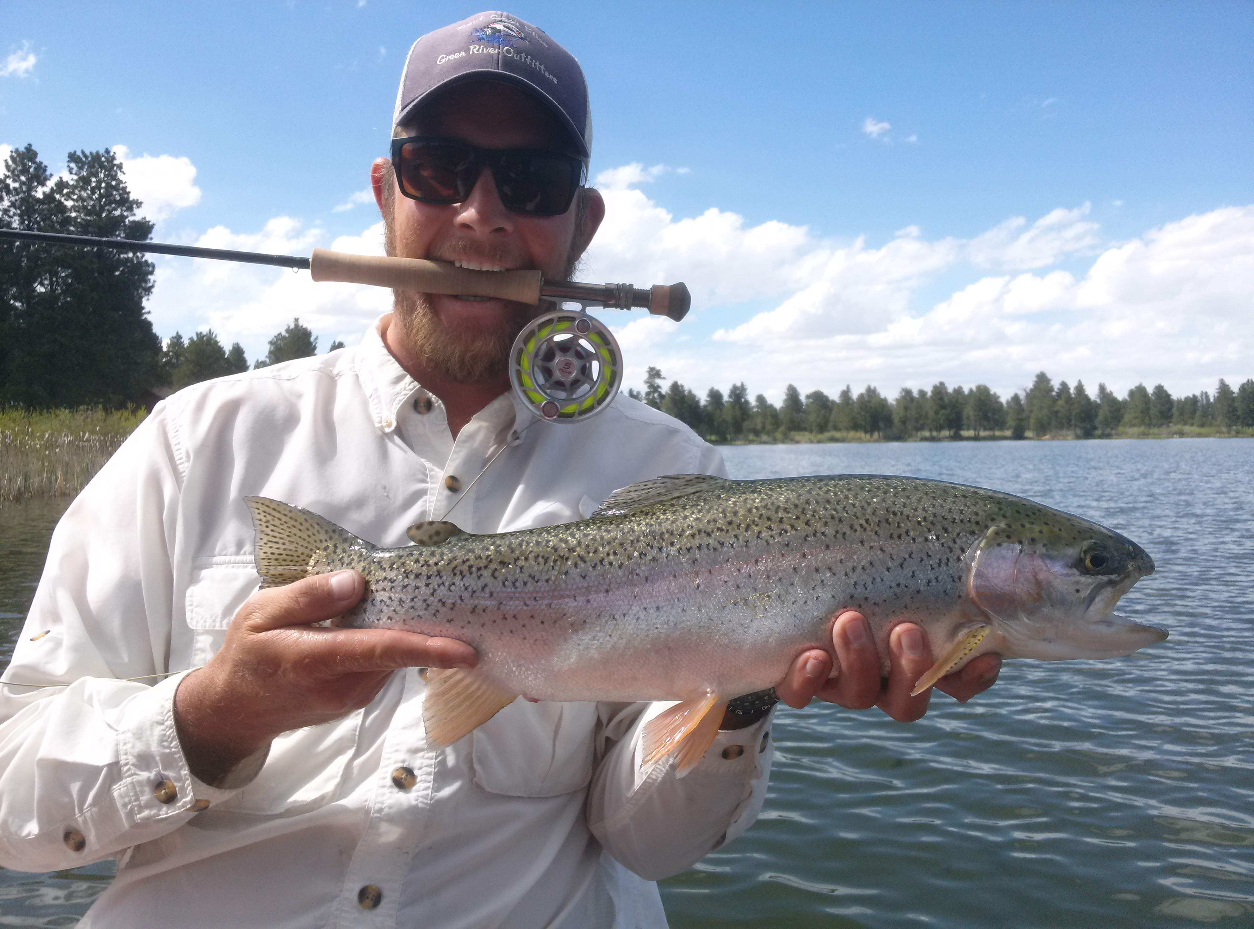 Red canyon lodge fly fishing dry fly utah for Sage fly fish